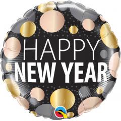 "Foil Balloon "" Happy New Year "" Sparkle, Qualatex 58163"