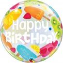 "Frozen Treats Bubble Balloon - 22""/56 cm, Qualatex 49089, 1 piece"