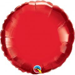 Folie 45 cm rotund ruby red, Q 22634
