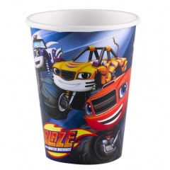 Blaze Paper Party Cups - 266 ml, Amscan 9901354, Pack of 8 Pieces