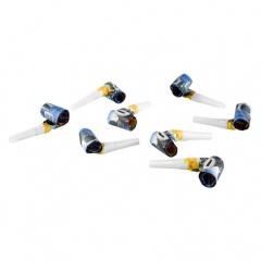 Party Blowouts Blaze 30 cm, Amscan 9901362, set of 8 pieces