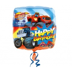 Blaze Birthday Foil Balloon, 45 cm, Amscan 32391