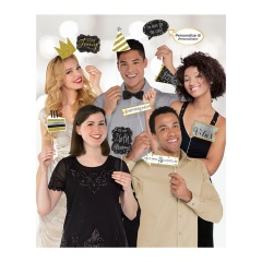 Accesorii foto party personalizabile, Amscan 399646, Set 13 buc