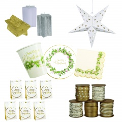 Christmas Decor Gift Package, set of 41 pieces