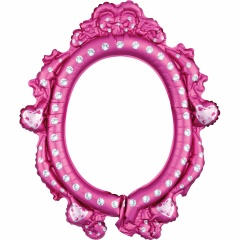 Balon Folie Rama fotografii selfie Disney Princess, Amscan 38181