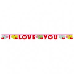 Banner Lovely Moments, 170 x 11 cm, Amscan 552603