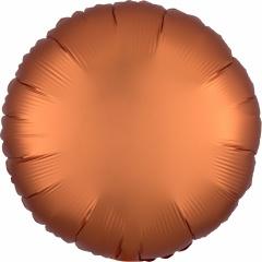 Balon folie 45 cm rotund Satin Luxe Amber, Amscan 38580