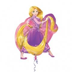 Rapunzel SuperShape Foil Balloon, 66 x 78 cm, Amscan 33215