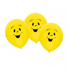 """9"""" latex balloons Sunny, Amscan 450035, pack of 6 pieces"""