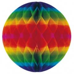Decor jumbo hartie multicolor de agatat - 60 cm, Amscan 4064