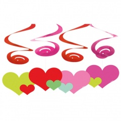 Deco Swirl Lovely Moments, Amscan 400276, Pack of 4 pieces