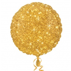 "Balon Folie 45 cm ""Sparkle Gold"", Amscan 32653"