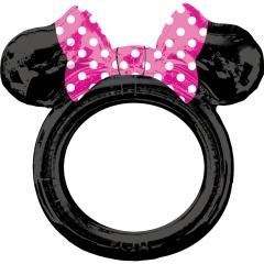 Balon Rama fotografii selfie Minnie Mouse, Amscan 38187