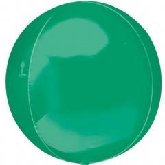 Balon folie orbz Verde - 38 x 40 cm, Amscan 31942