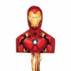 Pinata Iron Man cu sfori, Amscan 9903151, 1 bucata