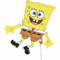 Mini Shape SpongeBob Foil Balloon, Amscan 93989