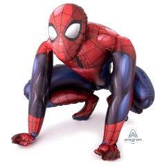 Balon Folie Figurina AirWalker Spiderman, 91x 91 cm, Amscan 36324