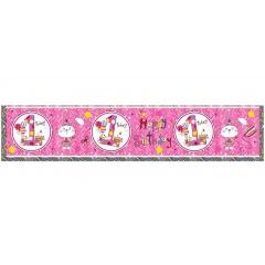 Banner decorativ Cifra 1 cu iepuras - 2.6 m, Qualatex 25017