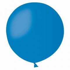 Baloane Latex Jumbo 80 cm, Albastru, Gemar G30.10, set 5 baloane