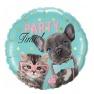 Balon Folie 45 cm Party Time, Qualatex 57614