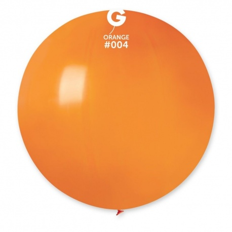 Baloane Latex Jumbo 48 cm, Orange, Gemar G150.04, set 50 buc
