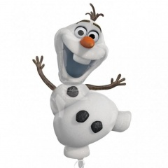 SuperShape Frozen - Olaf Foil Balloon, Amscan 31950