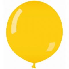 Baloane Latex Jumbo 100 cm, Galben 02, Gemar G40.02