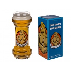 Pahar de bere No pain - No beer - ca. 22 cm, 830 ml, Radar 78/738, 1 buc