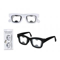 Cadou Haios - Desfacator sticla forma ochelari - ca. 15 cm, Radar 79/4799, 1 buc, 2 modele