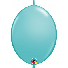 Caribbean Blue Cony Latex Balloon, 12 inch (30 cm), Qualatex 65229
