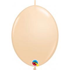 Blush Cony Latex Balloons - 6/16 cm, Qualatex 99867