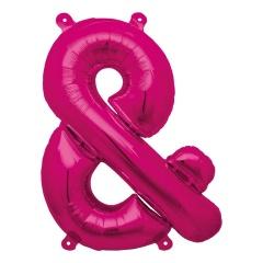 """16""""/41 cm Magenta Symbol & Shaped Foil Balloon, Northstar Balloons 00944"""