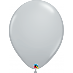Balon Latex Grey, 16 inch (41 cm), Qualatex 92289