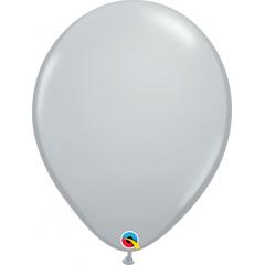 Grey Latex Balloon, 16 inch (41 cm), Qualatex 92289