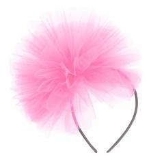 Bentita roz cu tulle pentru burlacite, Radar 41343/1, 1 bucata