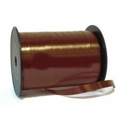 Brown Curling Ribbon 5 mm x 500 m, Radar B65718, 1 Roll