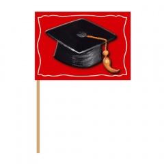 Scobitori decorative pentru briose, petrecere absolvire - 10 cm, Radar 50224, set 50 buc