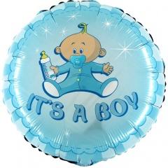 Balon Folie 45 cm It's A Boy, Radar 78050