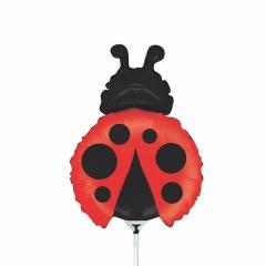 Balon mini figurina Gargarita - 36 cm, umflat + bat si rozeta, Radar 19667