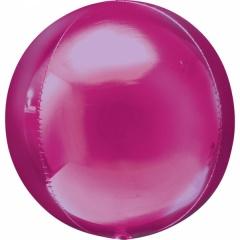Orbz Bright Pink Foil Balloon - 38 x 40 cm, 28206