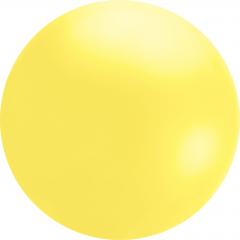 Balon latex 4ft chloroprene galben, Qualatex 91213, 1 buc