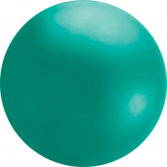 8ft Green Chloroprene Latex Balloon, Qualatex 91227, 1 piece