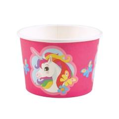 Boluri de inghetata cu Unicorn, pentru petreceri, 251 ml, 9902370, set 8 buc