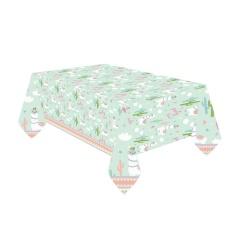 Fata de masa din plastic pentru petrecere copii - Lama, 120 x 180 cm, 9904589, 1 buc