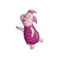 Balon Folie Figurina Winnie de Pooh- Piglet, 06344