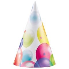 Coif petrecere copii cu Baloane, 9900329, Set 8 coifuri