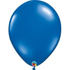 Balon Latex Sapphire Blue, 16 inch (41 cm), Qualatex 43900
