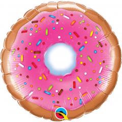 """9"""" Donut Air Fill Microfoil Balloon, Qualatex 58455"""