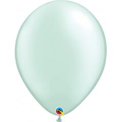 Balon Latex Pearl Mint Green, 16 inch (41 cm), Qualatex 43891