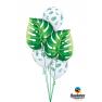 Balon Folie Figurina Frunza Tropicala - 53 cm, Qualatex 87961